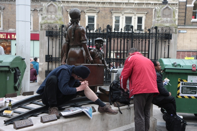 In gratitude to the people of Great Britain....